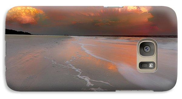 Sunset On Hilton Head Island Galaxy S7 Case