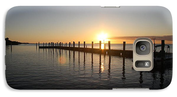 Galaxy Case featuring the photograph Sunset On Key Largo by Christiane Schulze Art And Photography