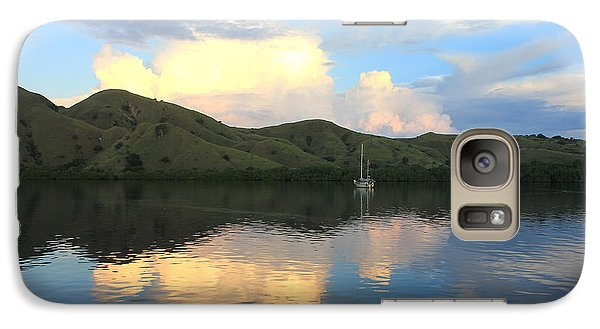 Galaxy Case featuring the photograph Sunset On Komodo by Sergey Lukashin