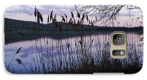 Galaxy Case featuring the photograph Sunset On Rockland Lake - New York by Jerry Cowart