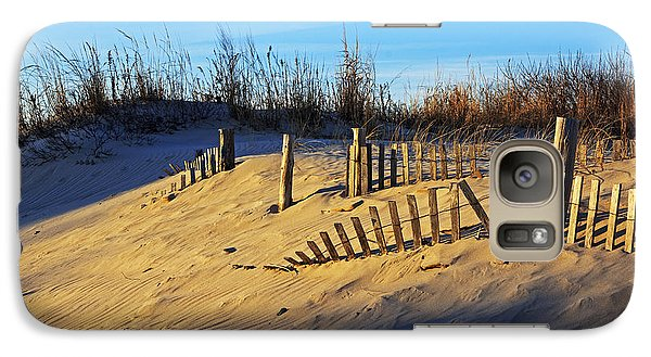 Galaxy Case featuring the photograph Sunset On The Dunes by Robert Pilkington