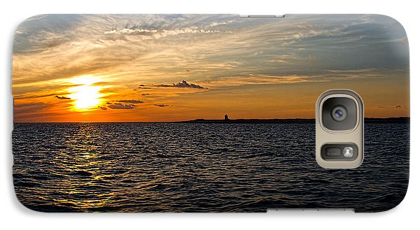 Galaxy Case featuring the photograph Sunset On The Water In Provincetown by Eleanor Abramson