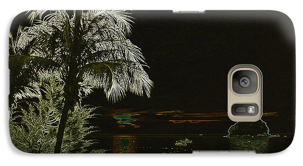 Galaxy Case featuring the photograph Sunset On Tioman Island by Sergey Lukashin