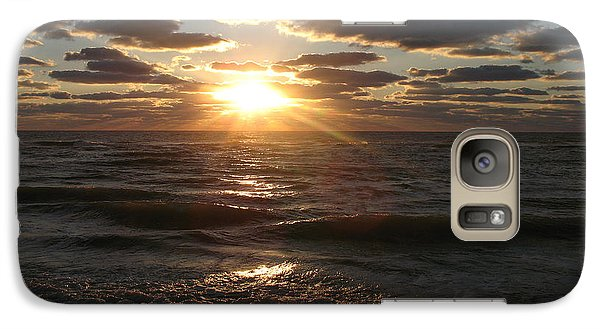 Galaxy Case featuring the photograph Sunset On Venice Beach  by Christiane Schulze Art And Photography