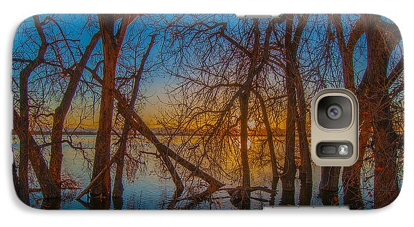 Galaxy Case featuring the photograph Sunset Over Barr Lake_2 by Tom Potter