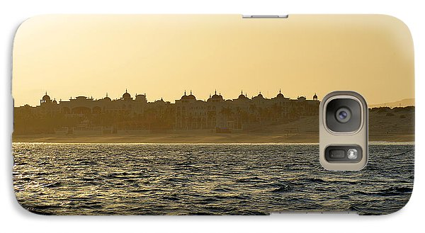 Galaxy Case featuring the photograph Sunset Over Cabo by Christine Till