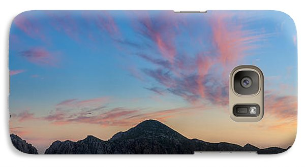 Galaxy Case featuring the photograph Sunset Over Cabo by Sebastian Musial