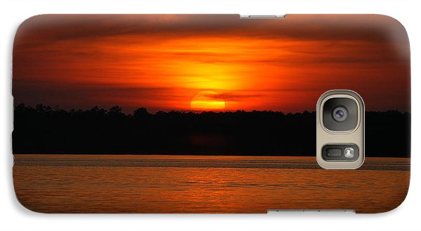 Galaxy Case featuring the photograph Sunset Over Lake Martin by Donald Williams