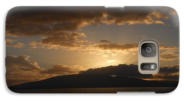 Galaxy Case featuring the photograph Sunset Over Lanai by Fred Wilson