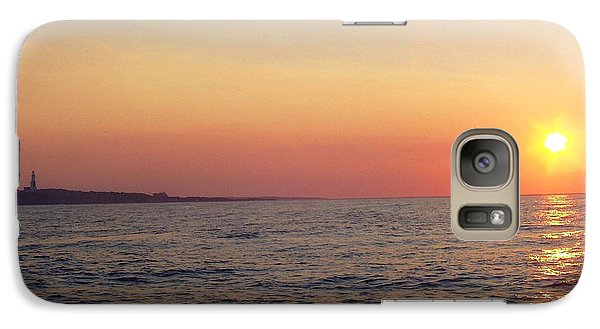 Galaxy Case featuring the photograph Sunset Over Montauk by John Telfer