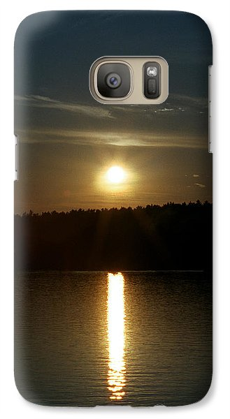 Galaxy Case featuring the photograph Sunset Over Pickerel River Sun 91 by G L Sarti