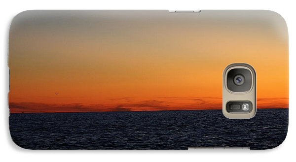 Galaxy Case featuring the photograph Sunset Over Point Lookout by John Telfer