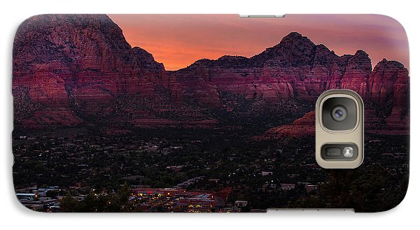 Sunset Over Sedona Az Galaxy S7 Case