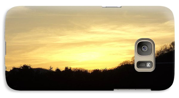 Galaxy Case featuring the photograph Sunset by Paula Tohline Calhoun