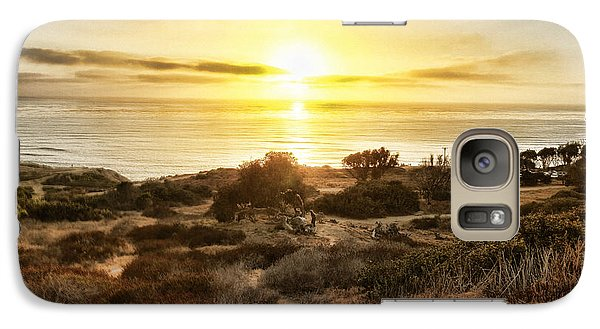 Galaxy Case featuring the photograph Sunset Point Loma 20130915 by Jeremy McKay