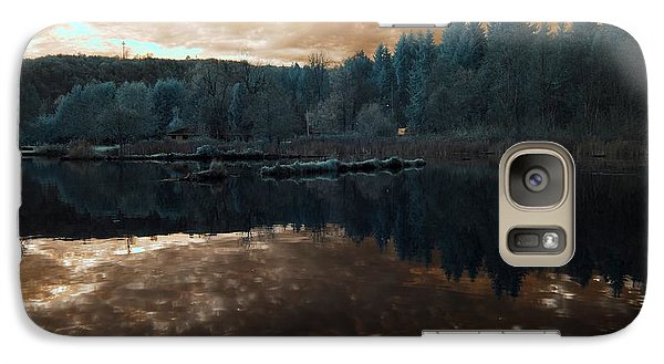 Galaxy Case featuring the photograph Sunset by Rebecca Parker