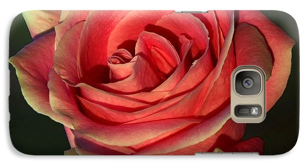 Galaxy Case featuring the photograph Sunset Rose by Shirley Mangini