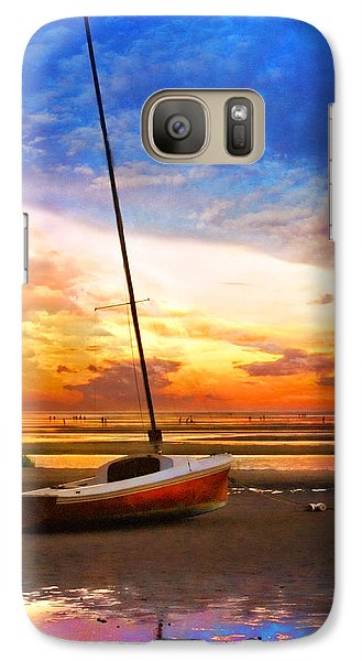 Galaxy Case featuring the photograph Sunset Sail by Tammy Wetzel