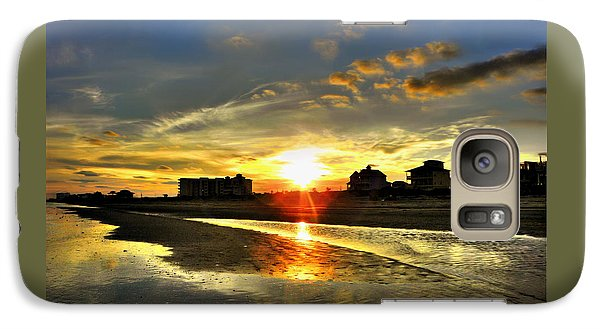 Galaxy Case featuring the photograph Sunset by Savannah Gibbs