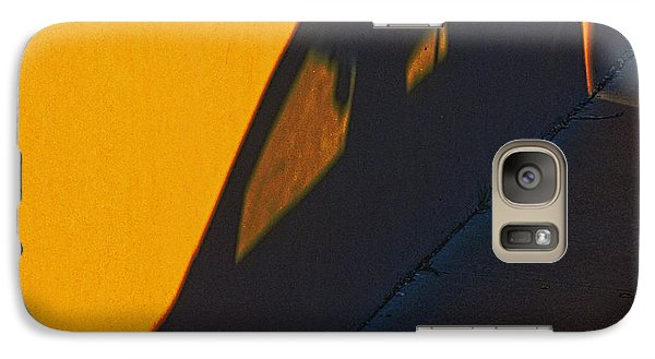 Galaxy Case featuring the photograph Sunset Shadow Car by John Hansen