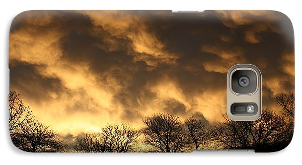 Galaxy Case featuring the photograph Sunset Silhouettes by Nareeta Martin