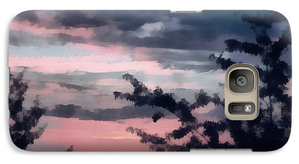Galaxy Case featuring the photograph Sunset Skies by Gerry Bates