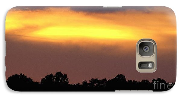 Galaxy Case featuring the photograph Sunset Sky by Raymond Earley
