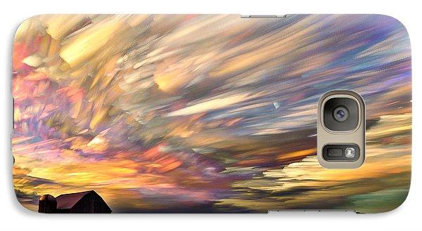 Sunset Spectrum Galaxy S7 Case