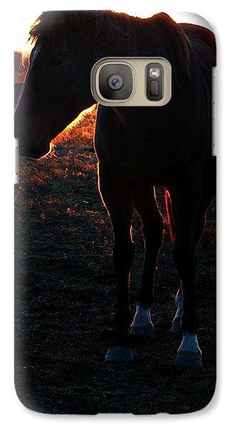 Galaxy Case featuring the photograph Sunset Splendor by Robert McCubbin