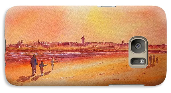 Sunset St Andrews Scotland Galaxy S7 Case by Beatrice Cloake