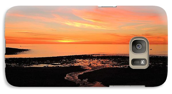 Galaxy Case featuring the photograph Field River, Hallett Cove by Linda Hollis