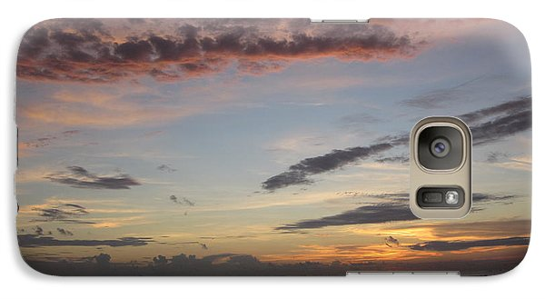 Galaxy Case featuring the photograph Sunset Stroll by Elizabeth Carr
