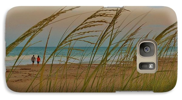Galaxy Case featuring the photograph Sunset Stroll by Lynda Dawson-Youngclaus