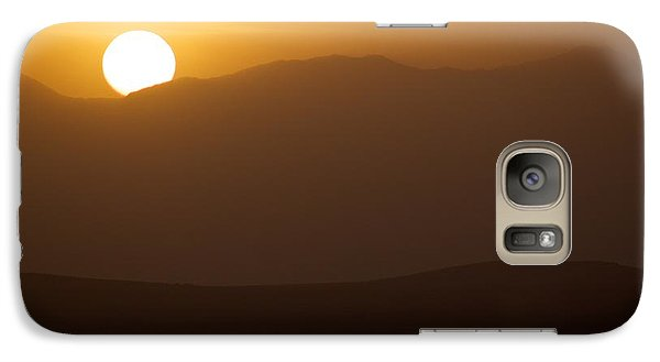 Galaxy Case featuring the photograph Sunset The Ruby Mountains Wells Nevada by Michael Rogers