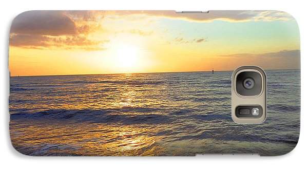 Galaxy Case featuring the photograph Sunset by Ute Posegga-Rudel