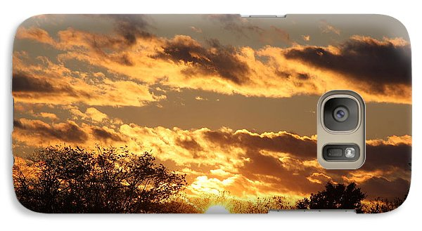 Galaxy Case featuring the photograph Sunset by Vadim Levin
