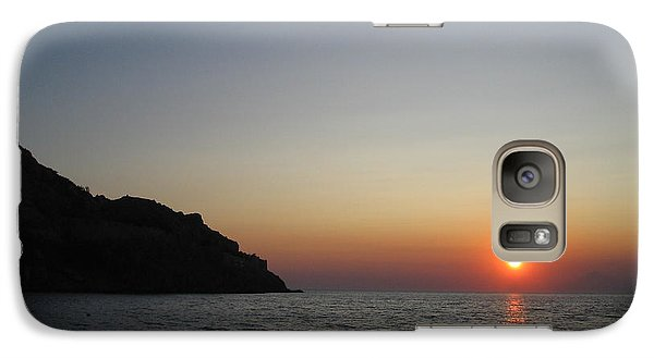 Galaxy Case featuring the photograph Sunset by Vicki Spindler