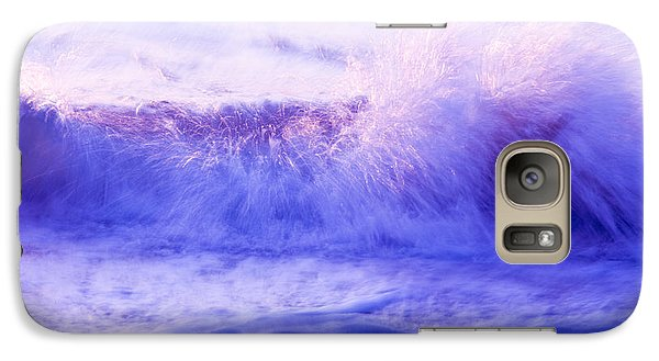 Galaxy Case featuring the photograph Sunset Waves by Serene Maisey