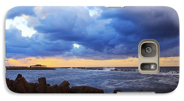 Galaxy Case featuring the photograph Sunset With Cloudy Sky  by Mohamed Elkhamisy