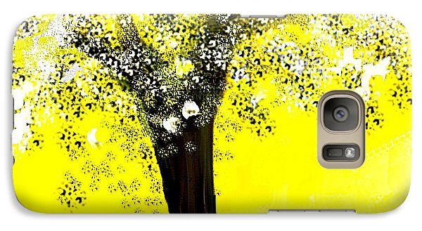 Galaxy Case featuring the painting Sunshine Blossom Tree by Jessica Wright