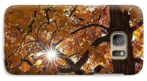 Sunshine Gold Galaxy S7 Case