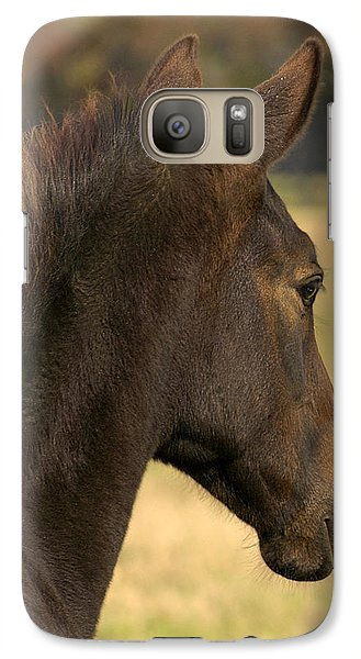 Galaxy Case featuring the photograph Sunshine On My Shoulder by Sami Martin