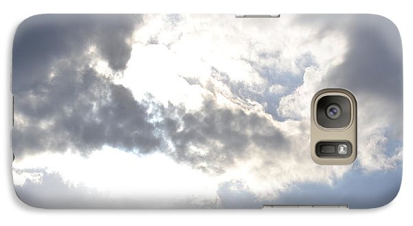 Galaxy Case featuring the photograph Sunshine Through The Clouds by Tara Potts