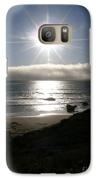 Galaxy Case featuring the photograph Sunstar by Bev Conover
