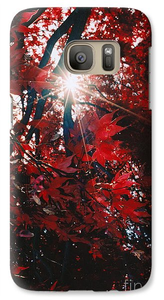 Galaxy Case featuring the photograph Sunstar by Jesse Ciazza