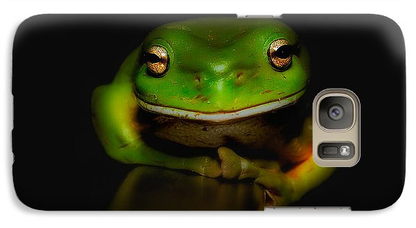 Galaxy Case featuring the photograph Super Frog 01 by Kevin Chippindall