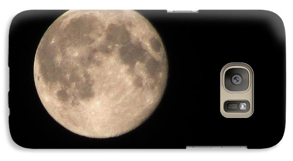 Galaxy Case featuring the photograph Super Moon by David Millenheft