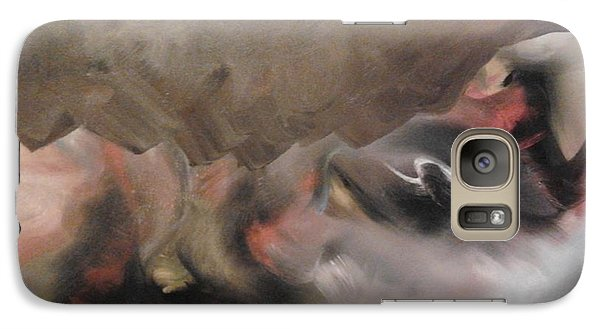 Galaxy Case featuring the painting Supernatural by Nereida Rodriguez
