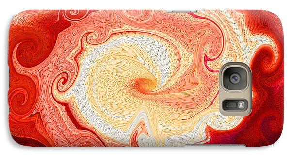 Galaxy Case featuring the digital art Supernova by Mariarosa Rockefeller