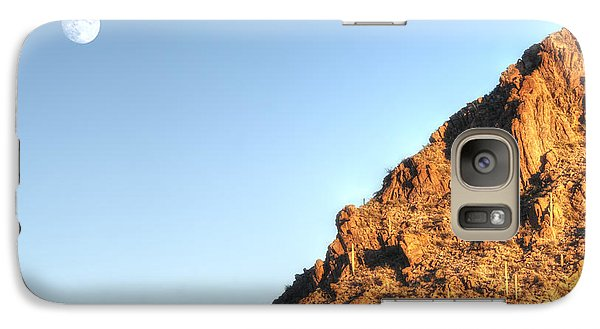 Galaxy Case featuring the photograph Superstition Mountain by Lynn Geoffroy